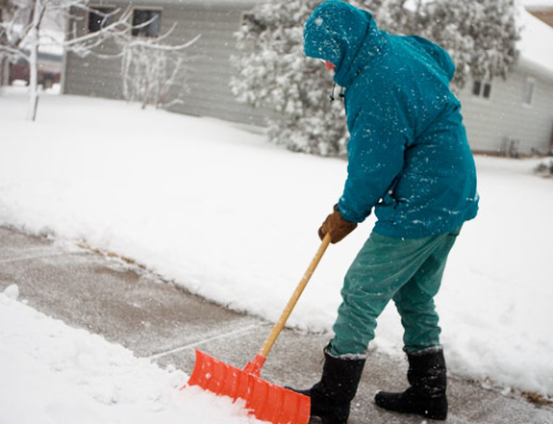 Snow Shoveling Tips From Dr. Ralph at Livingston Chiropractic